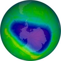 NASA - Ozone hole, Oct 2010-2012